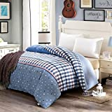 College quilt/one piece cotton quilt/cotton quilt cover-E 200x230cm(79x91inch)