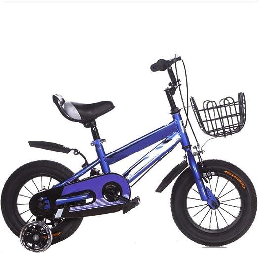 YUMEIGE Bicicletas Bicicletas con rueditas y Canasta de Hierro ...