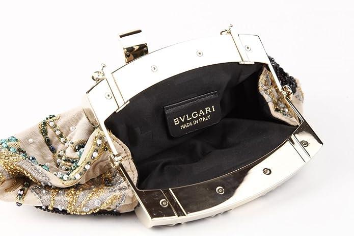 Bulgari - Cartera de mano para mujer Beige beige: Amazon.es: Zapatos y complementos
