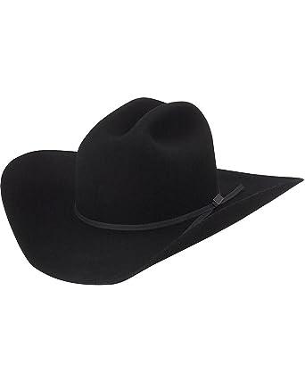 ba4ac9219e2b8 Amazon.com  Larry Mahan 4X Go Round 4 Felt Cowboy Hat  Clothing