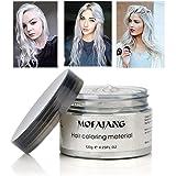 MOFAJANG Hair Coloring Dye Wax, White Instant