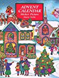 Advent Calendar Sticker Picture, Marty Noble, 0486402452