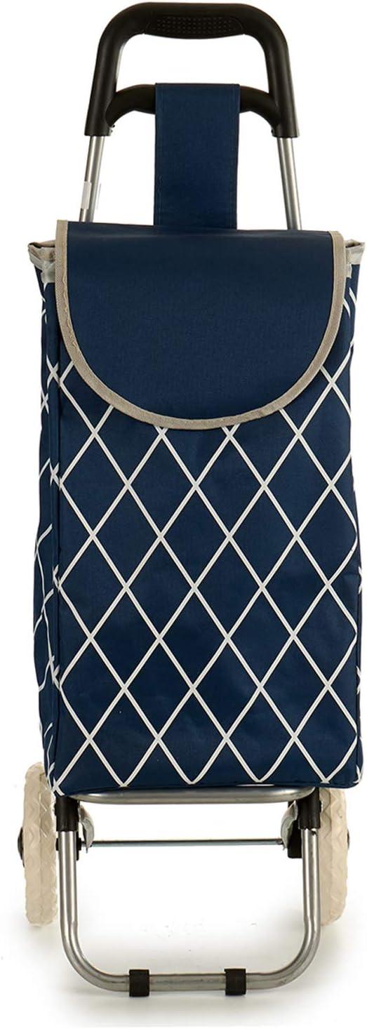 AR Carrello per la Spesa Rombi 81 x 32 x 27 cm Blu
