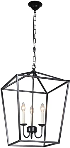 Foyer Lantern Pendant Light Fixture
