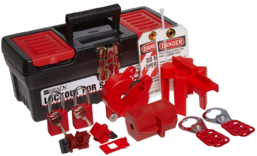 Brady Personal Lockout Tagout Kit for Common Breakers, Valves, and Plugs, Includes 2 Safety Padlocks - 104795 by Brady