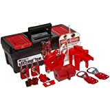 Brady Personal Lockout Kit for Common, Breakers, Valves, and Plugs, Includes 2 Safety Padlocks