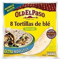 Old El Paso - 8 Tortilla de Ble 326 g