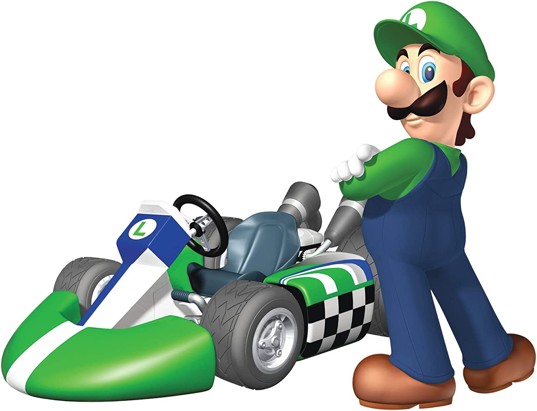 Amazon Com 6 Inch Luigi Super Mario Kart Wii Bros Brothers