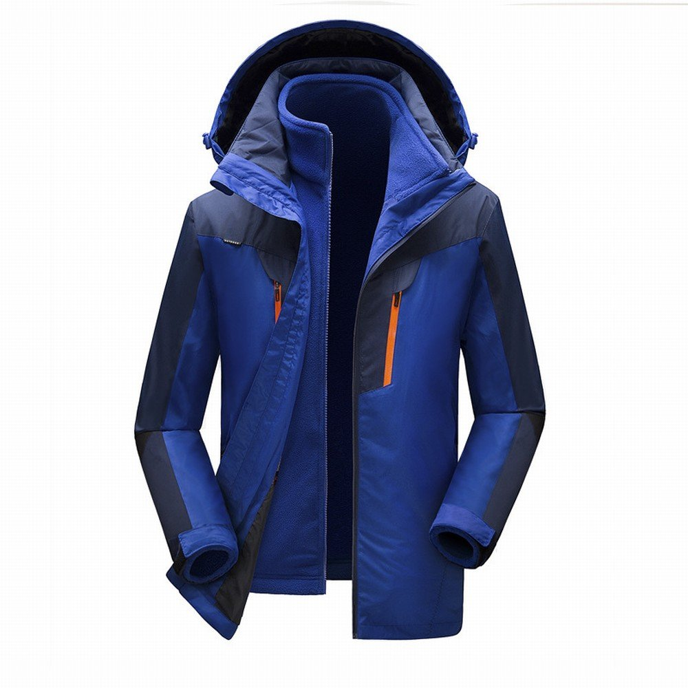 A 4XL CWJ Men 'S Two-Piece Jackets Men' S Couple Outdoor Mountaineering Men 'S and Women' S Outdoor Jackets