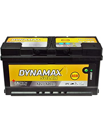 AGM Solar Batería SAI 120 Ah Dyna Max Mantenimiento libre corriente de emergencia en lugar de