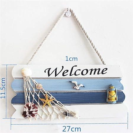 Carteles de bienvenida Rejilla Casa de Madera Bienvenido ...