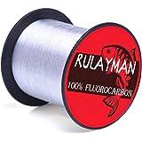 RULAYMAN フロロカーボンライン 釣り糸 釣りライン 100%フロロカーボン 高強度 高感度 高耐久【1.5-10号 300M】