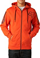 Fox Racing Mens Overload Fleece Hoody Zip Sweatshirt