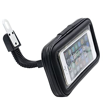 finest selection b13cc 23eeb Waterproof Motorcycle Motorbike Scooter Mobile Phone Holder Bag Case for  iphone 6s 6 Samsung Galaxy S5/S6 etc up to 5.5
