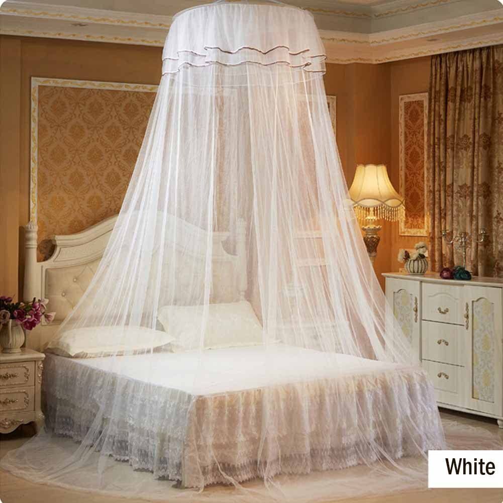 - Amazon.com : Bed Canopy White Canopy For Girls Boys Kids Bedroom