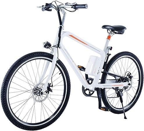 HJHJ Bicicleta de montaña eléctrica Todoterreno, Bicicleta Gruesa ...