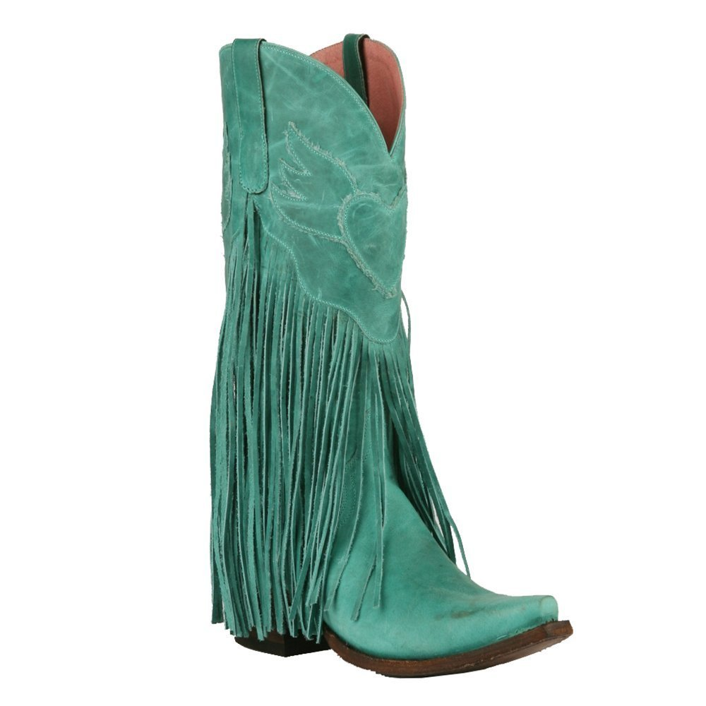 Lane Women's Junk Gypsy by Turquoise Dreamer Boot Snip Toe - Jg0004d B01GMRSVHI 8 B(M) US|Turquoise