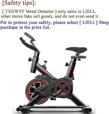 TXDWYF Bicicleta EstáTica con Sensores de Pulso de Mano, Ciclismo ...
