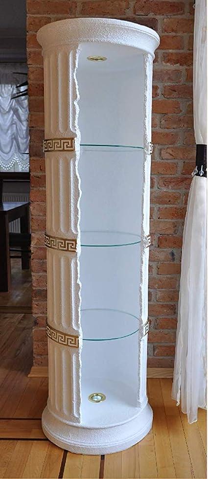 Jv Moebel Diseño Escaparate Estante Cristal Columna BAR ...