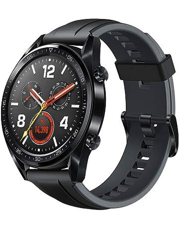 39ddb9dde474f Huawei Watch GT - Montre Connectée (GPS, Ecran tactile, boîtier Inox 46mm)