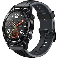 Huawei Watch GT - Orologio da polso con monitoraggio della frequenza cardiaca e notifiche intelligenti (fino a 2 settimane di durata della batteria), Nero(Graphite Black)