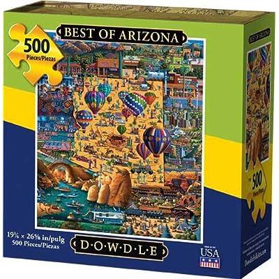Dowdle Jigsaw Puzzle - Best of Arizona - 500 Piece