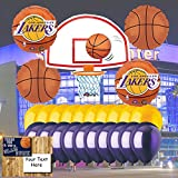 (US) LA Lakers Balloon Set