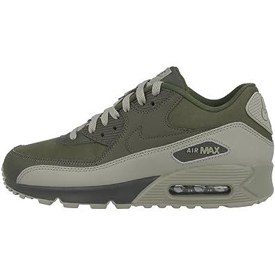 5 40 Nike 90 Khaki Sneaker Air Max Herren Essential LederSynthetikTextil bfY6g7yv