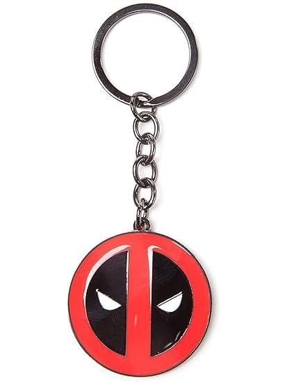 Deadpool Mask Llavero Rojo: Amazon.es: Equipaje