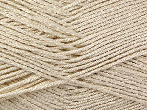 King Cole Bamboo Cotton Knitting Yarn 4 Ply 1027 Latte - per 100 gram ball