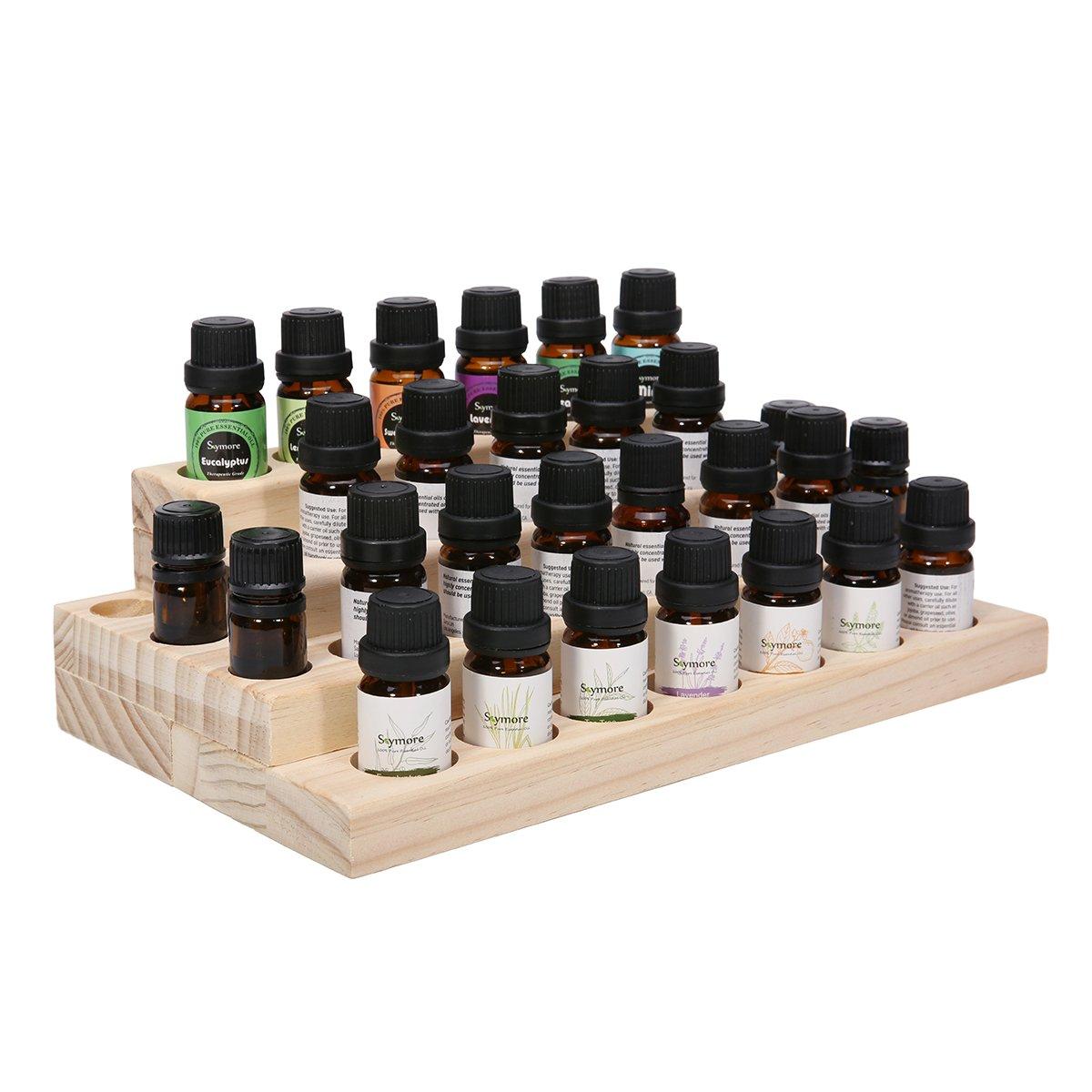 skymore 30 flaschen st nder display aus holz. Black Bedroom Furniture Sets. Home Design Ideas