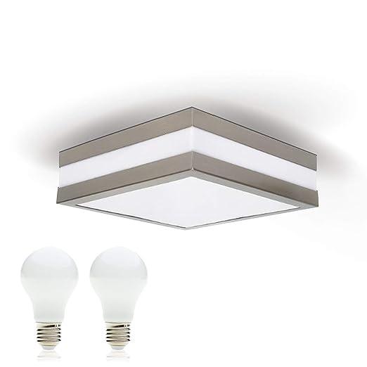Led Deckenleuchte Bad Lampe Aussen Leuchte Provance E27 230v Ip44