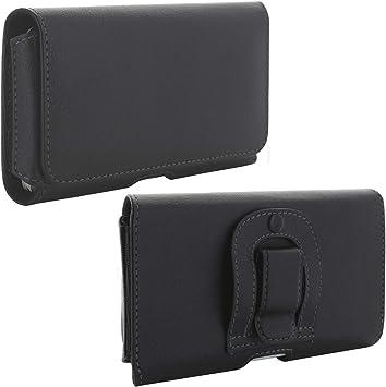 El estuche 1.3 con estuche para cinturón de Handy Belt se ajusta a Huawei Honor 7X / 9 Lite / Y7 / Motorola Moto G5s Plus / G6: Amazon.es: Electrónica