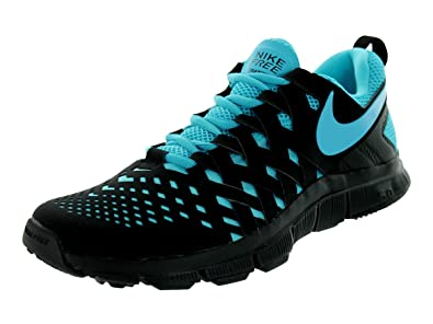 huge discount f3771 7cbd5 Nike Free Trainer 5.0 Men s Training Shoe, Black Blue, ...
