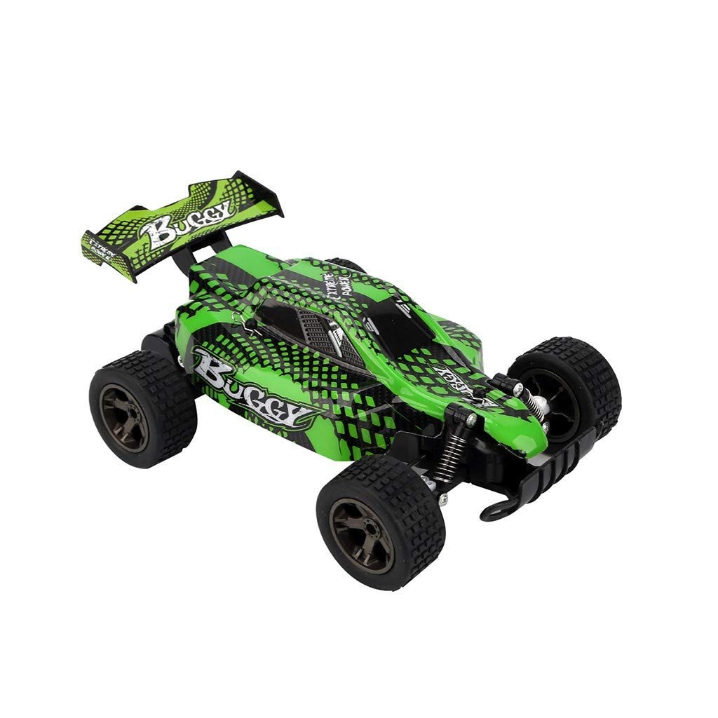 Zenghh 1:18 Remote Control Car 2810 2.4G 20Km / H High Speed Racing Off-Road Vehicle Remote Control Climbing Car High Speed Long Distance Racing Rock Mountain Bike ( Color : Green ) by Zenghh