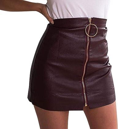 Falda De Las Lápiz Señoras Dress Mini Shift Falda Tubo Moda ...