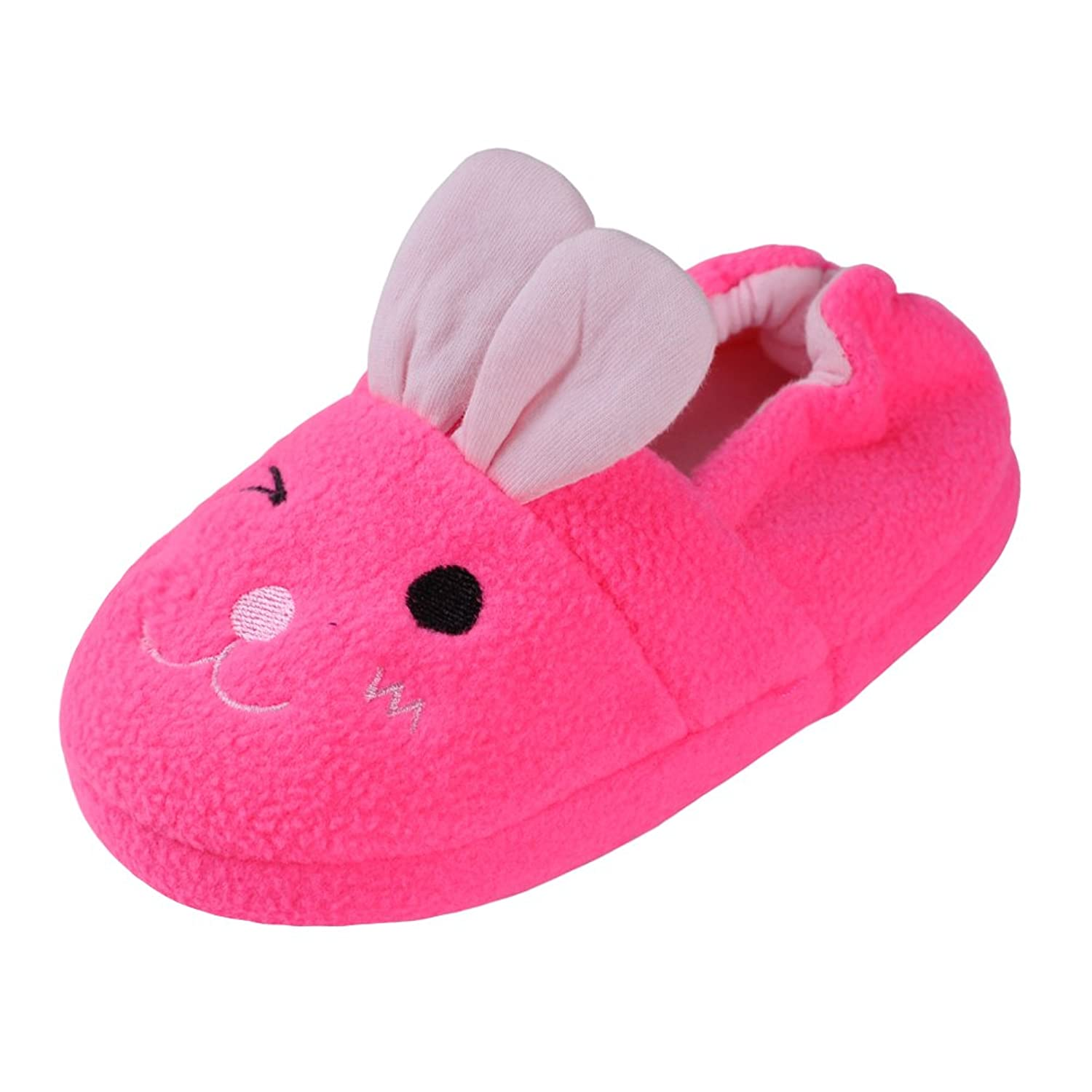 d88dd33655bab Annnowl Girls Slippers Winter Warm Shoes For Toddlers Little Kids ...