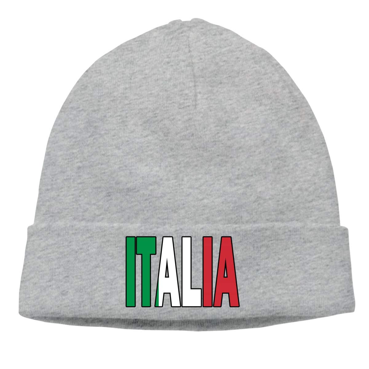 Italia Flag Italian Ski Cap Keep warm 17849 hgdfhfgd Casual Knit Cap for Unisex