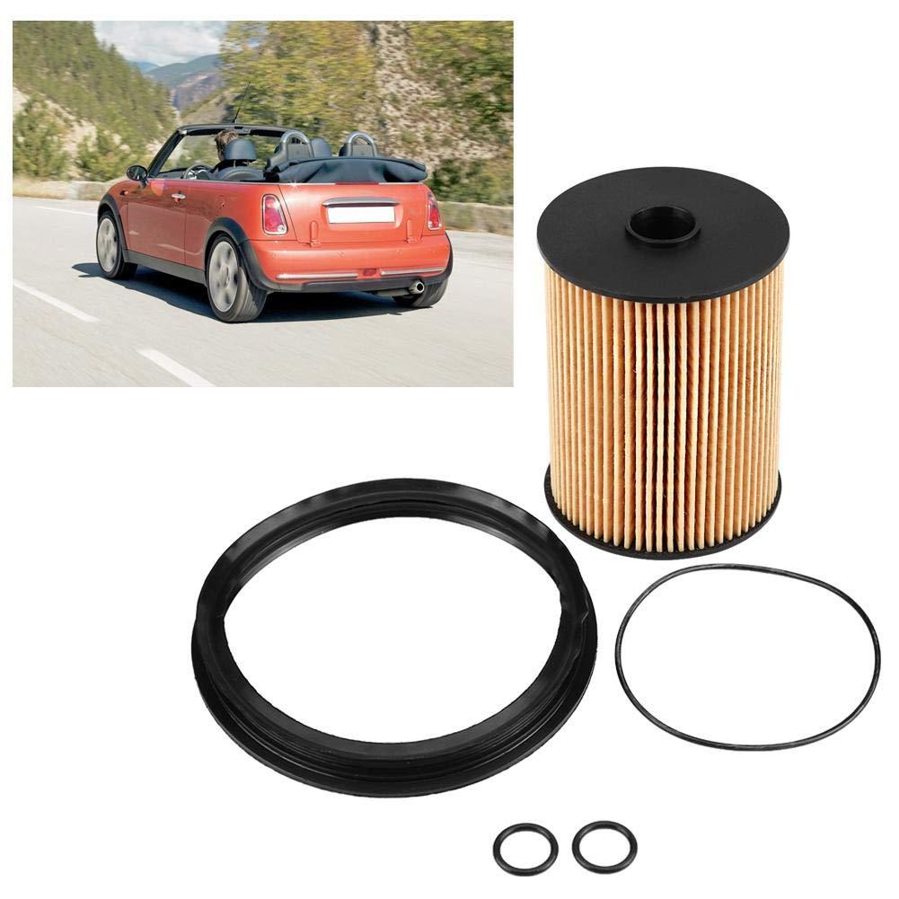Keenso Kraftstofffiltersatz mit O-Dichtungen Kraftstofffiltersatz mit O-Ringen im Tank OEM 16146757196 f/ür R50 R52 S R53 2002-2008