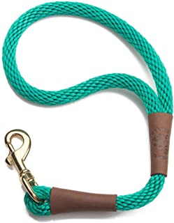 product image for Mendota Pet Traffic Leash - Short Dog Lead - Made in The USA - Kelly Green, 1/2 in x 16 in