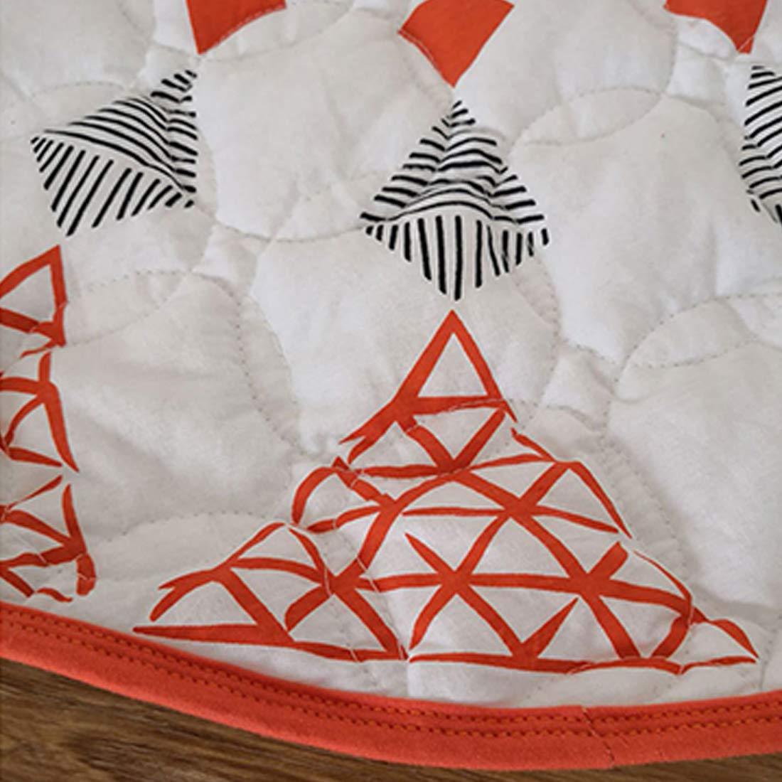 GWELL S/ü/ß Fu/ßmatten Runde Teppich Weich Baumwolle Kinderteppich f/ür Kinderzimmer Wohnzimmer Schlafzimmer Schmetterling