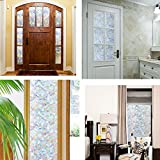 CottonColors Brand Window Film 3D Static Privacy