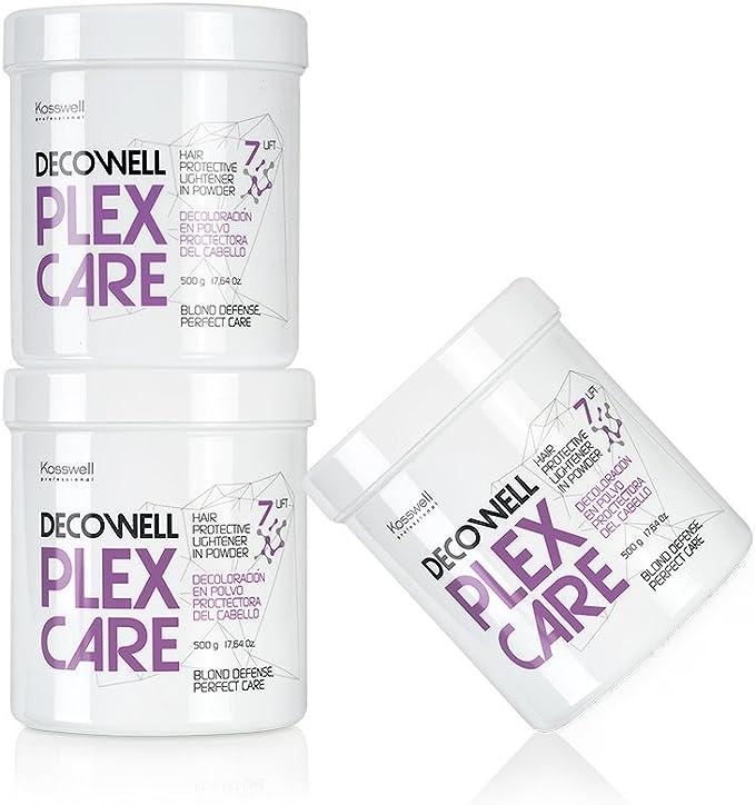 Kosswell, decoloración Decowell Plex Care 500 gr: Amazon.es ...