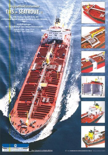 Hmv 3368 Papermodel Double Hull Tanker Tms Seatrout