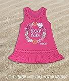 Toddler Girl's Dress Beach Babe Dress Beach Dress Summer Beach Dress Bathing Suit Cover Up Monogram Beach Dress Swimsuit Coverup