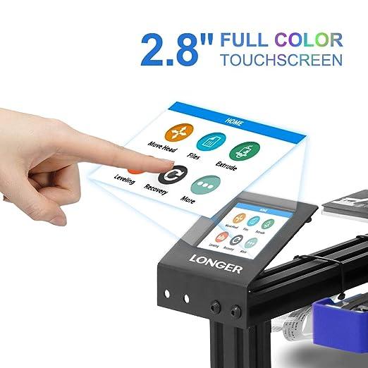 Impresora 3D LK2 de Longer, FDM para escritorio, impresora 3D de ...
