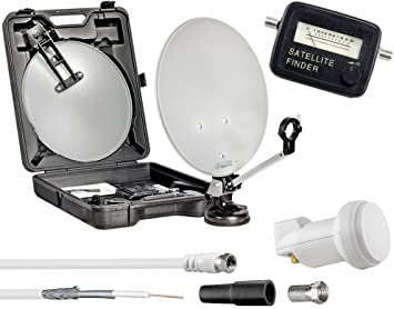 Digital camping móvil maletín HDTV 3d camping – Antena ...