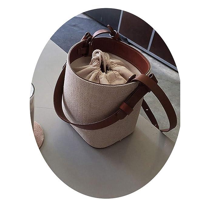 Amazon.com: Cherryi Bolsa de pajita para playa, bolso de ...