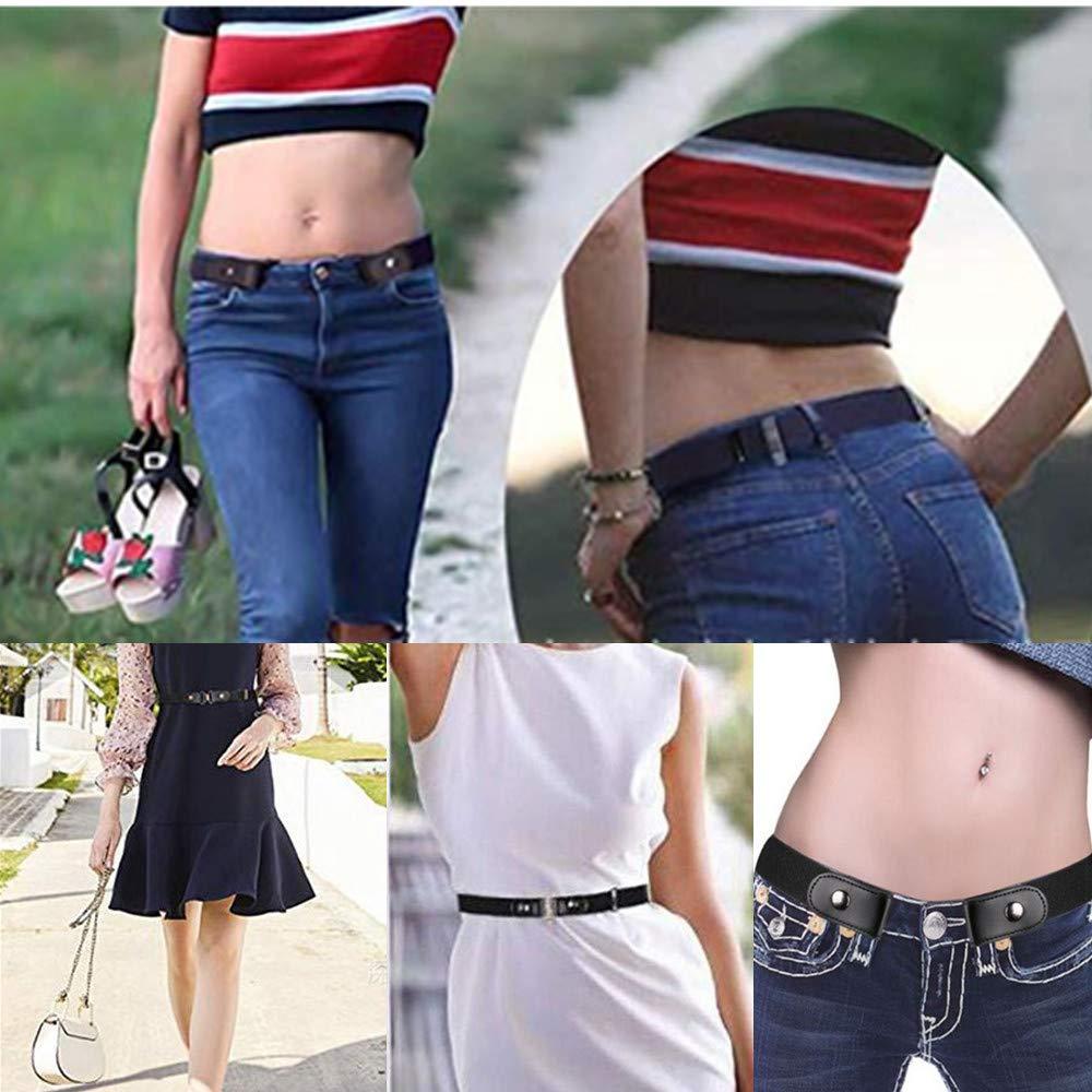 No Buckle Invisible Stretch Waist Belt Width 1.4 For Women Men WYSUMMER Invisible Elastic Belt