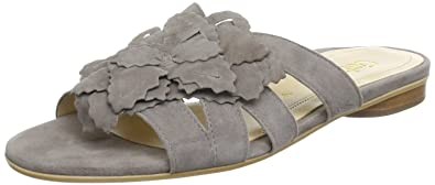 Gabor Shoes 6553312, Damen Clogs & Pantoletten, Grau (visone), EU 40.5 (UK 7) (US 9.5)